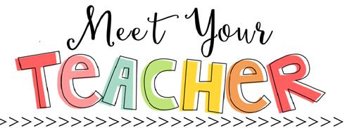 Image result for meet your teacher first grade clip art