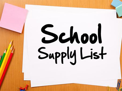 McCord Middle School Supply List