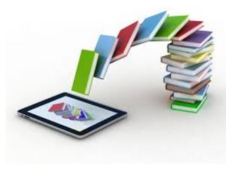 Books and iPad image