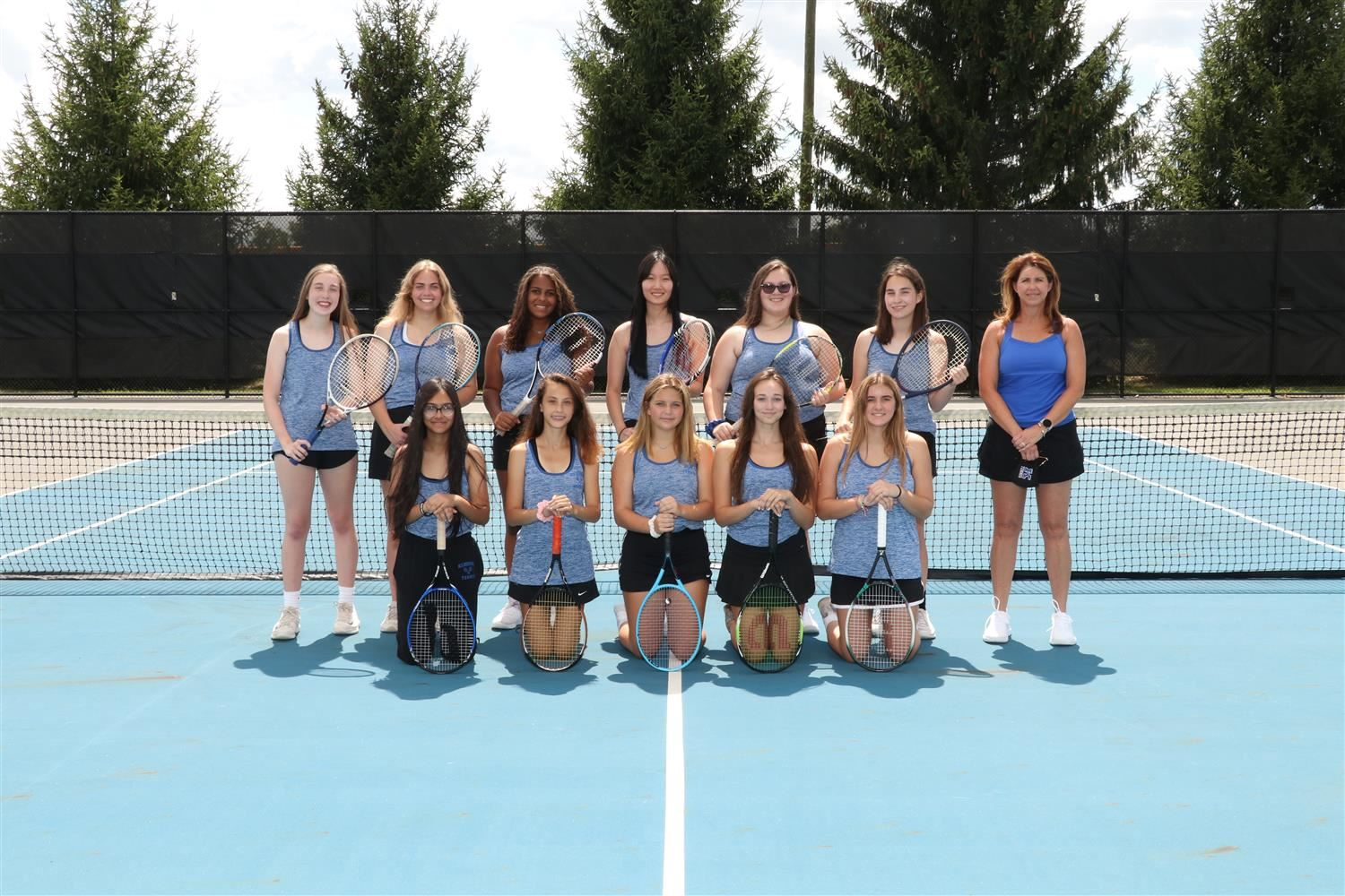 JV Tennis Team Picture