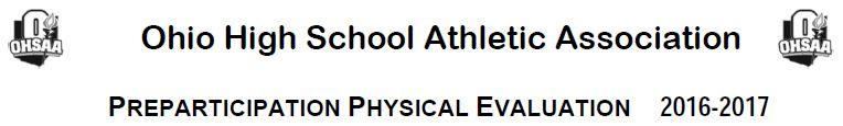 OHSAA PPE Form