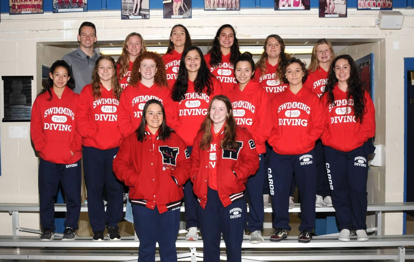 Girls Swim & Dive Team Photo