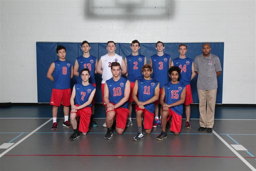 Boys Volleyball Team Photo