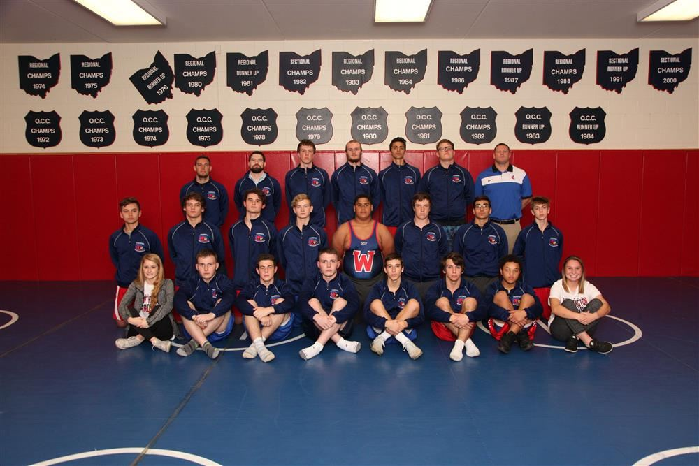 TWHS Wrestling Team Photo