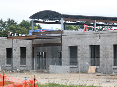 Perry Middle School Construction Photo