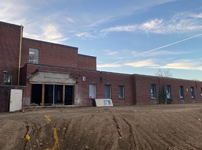 Construction work being done at Perry middle school