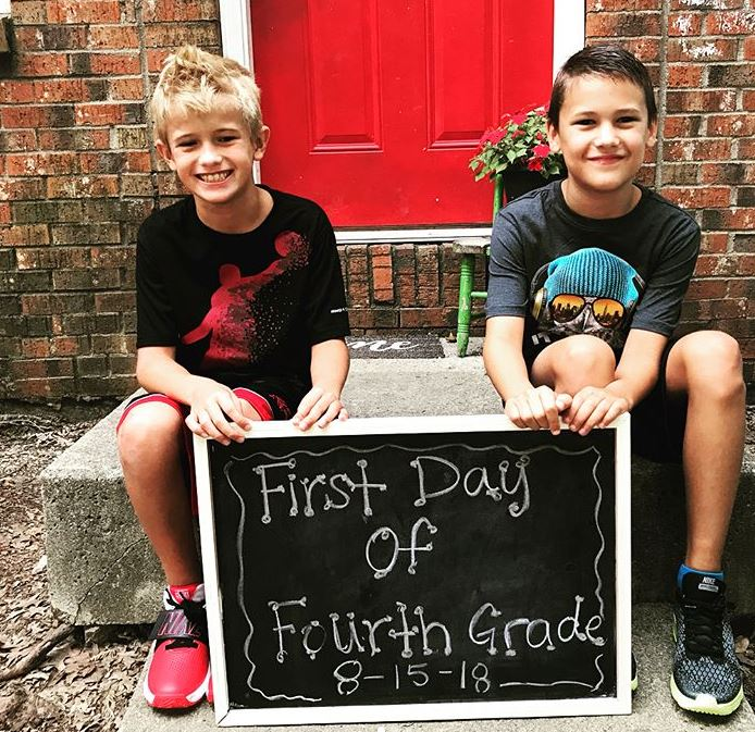 First Day of School photo