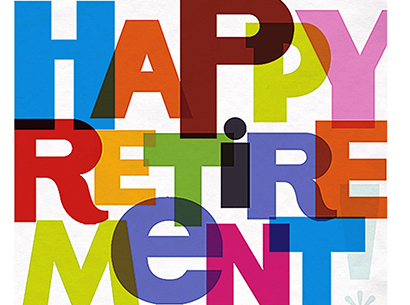 Happy Retirement Logo