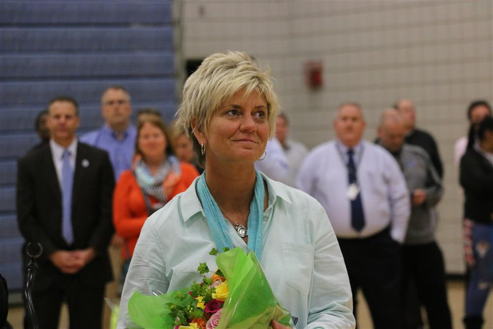 Angie Adrean Principal of the Year