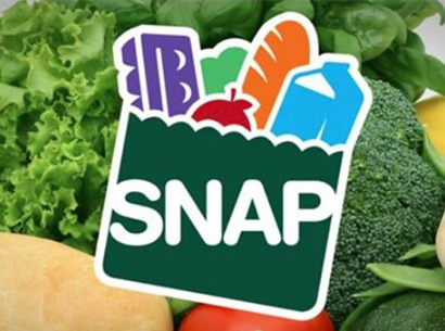 SNAP logo and food pictures