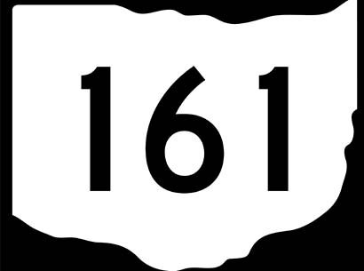 Sign state route 161
