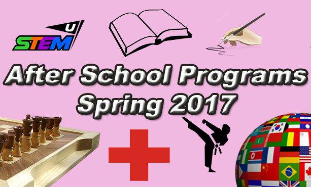 Spring activities graphic