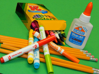 Links to Elementary School supply lists for 2018-19