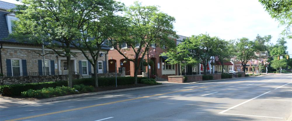 Picture of downtown Worthington