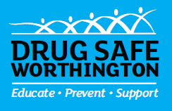 Drug Safe Worthington Logo