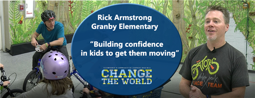 Rick Armstrong teacher