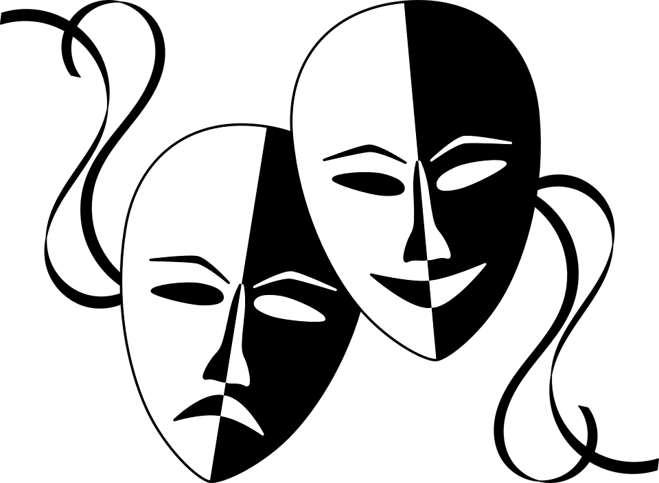 Image of Comedy and Drama Masks