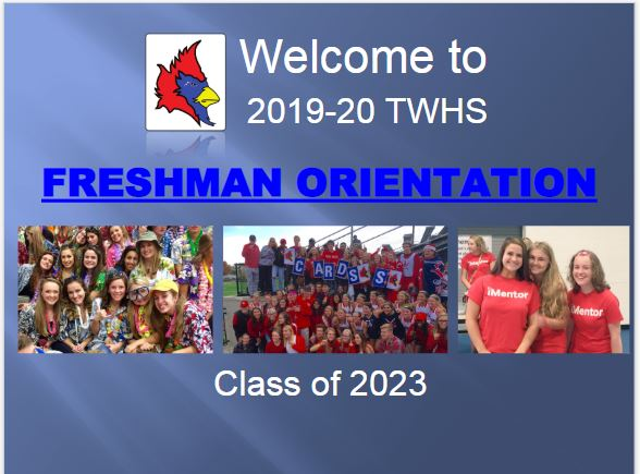 Missed the Freshman Orientation Program?
