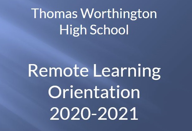 Remote Learning Orientation 2020 -2021