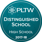 Kilbourne PLTW Recognized as Distinguished School