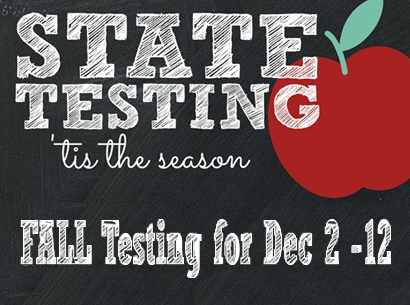 Image for Ohio's State Testing Dec 2-12