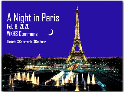 A Night in Paris Tickets are now on sale