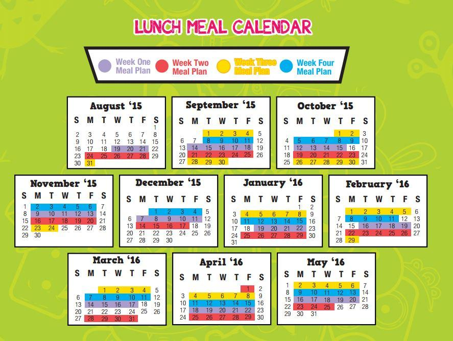 Brookside Elementary Oak Park Lunch Menu. The Students Reading ...